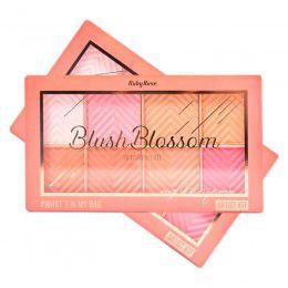 PALETA DE BLUSH BLOSSOM RUBY ROSE HB-6112