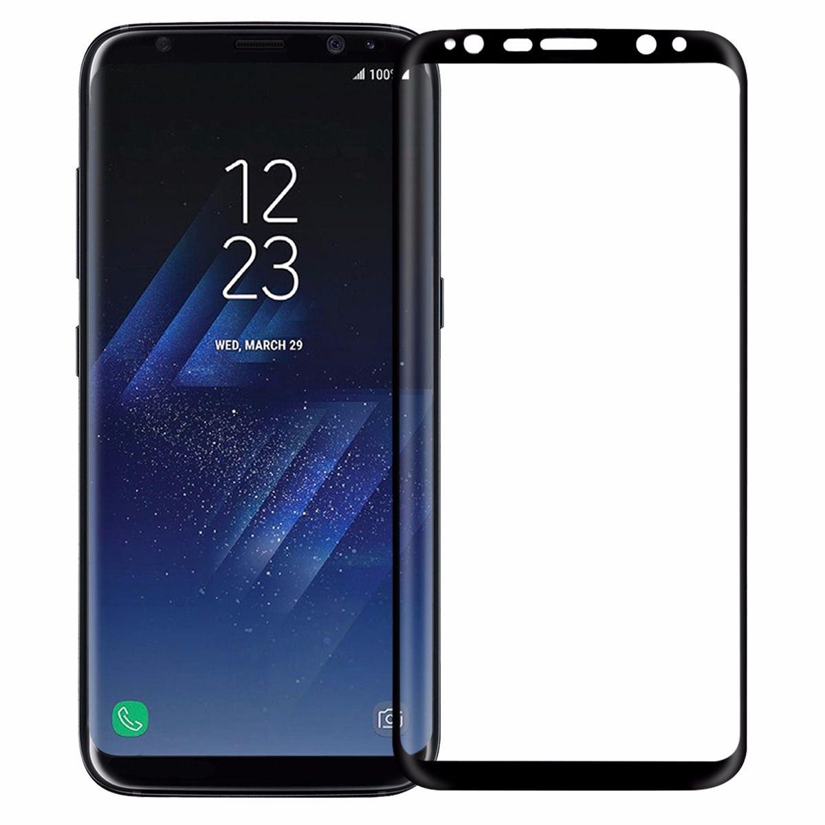 Pelicula de vidro Samsung s8 Plus 3D