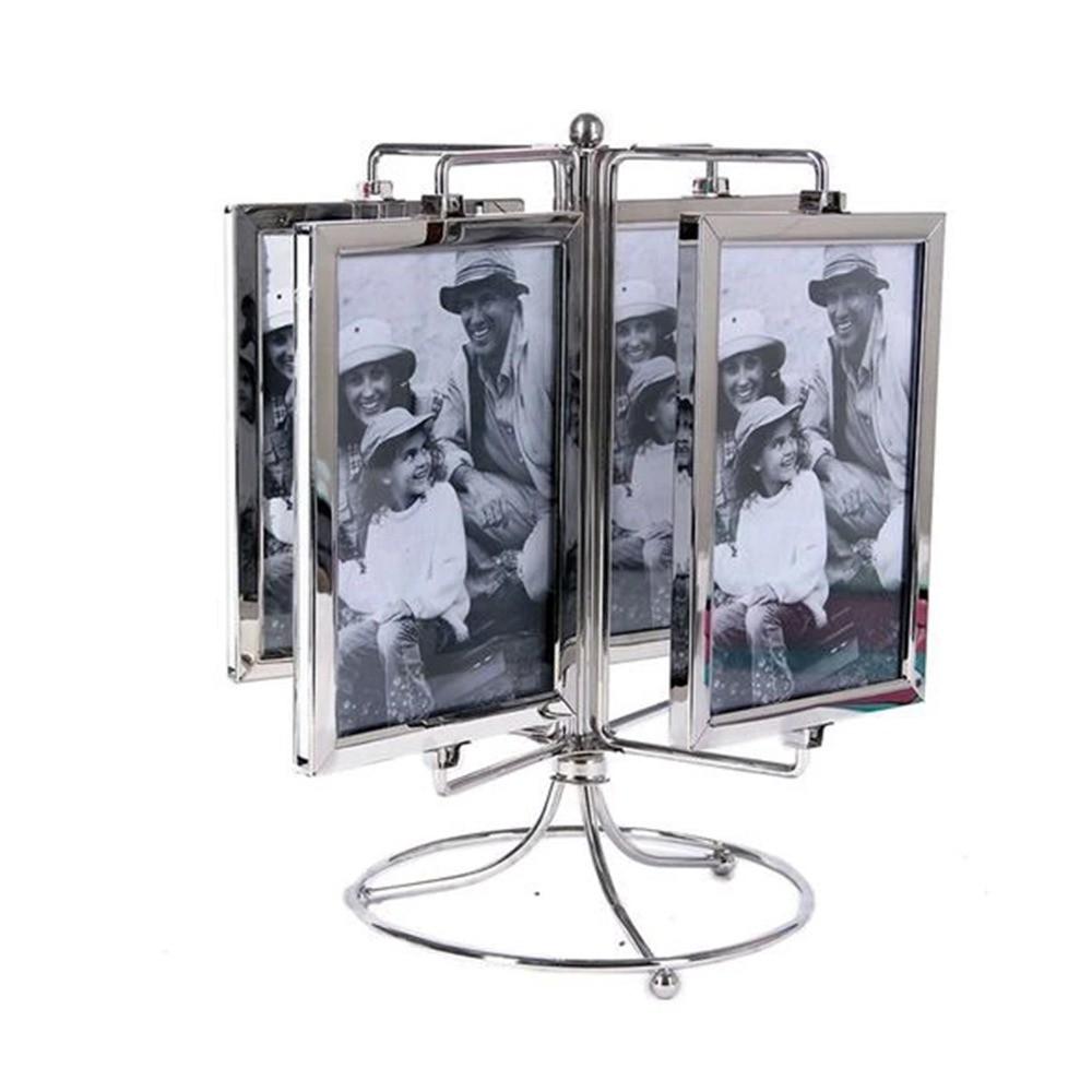 Porta retrato giratório vertical 8 fotos 10x15 - Sanxia
