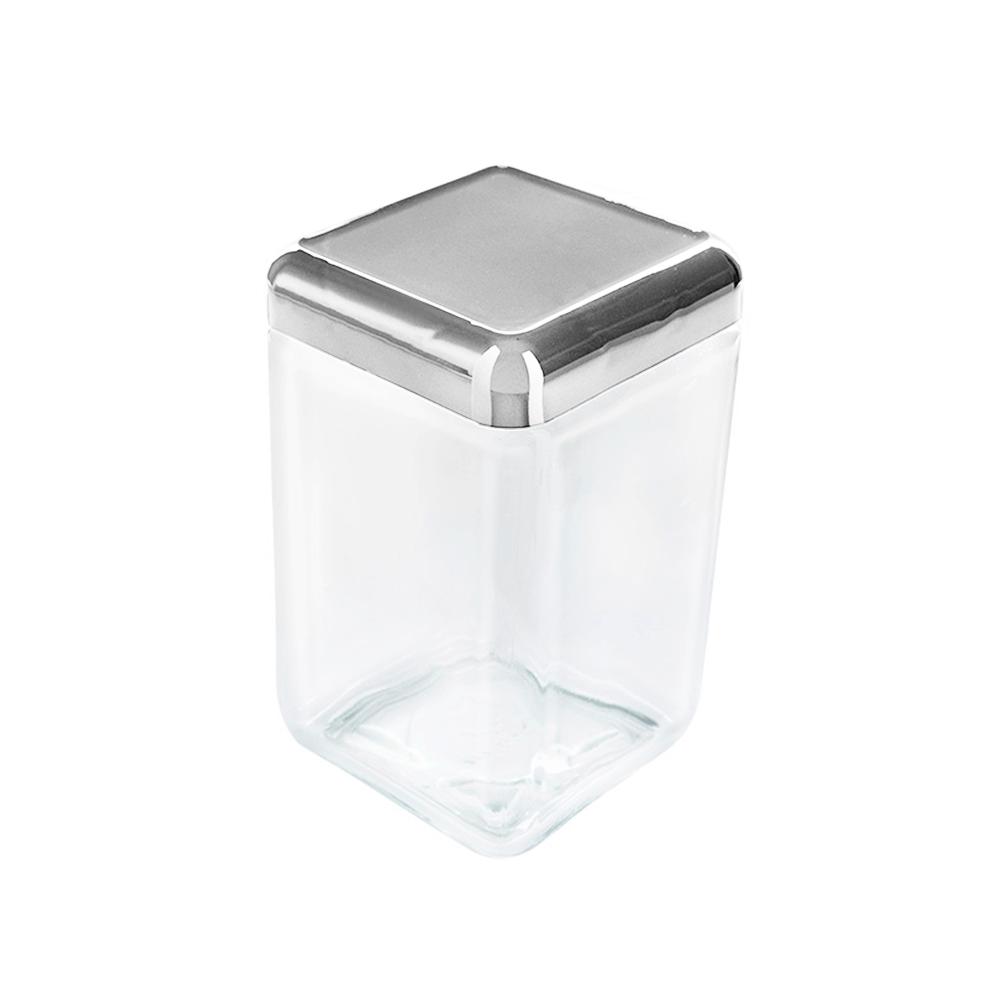 Pote de Vidro Tendenza 1,3L Metalizado - Invicta