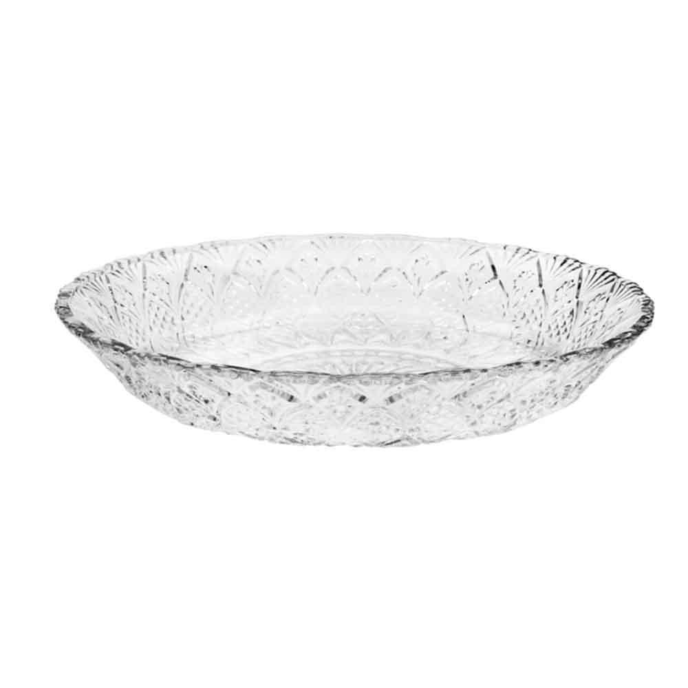 Prato para Bolo em Vidro 30cm - Lyor