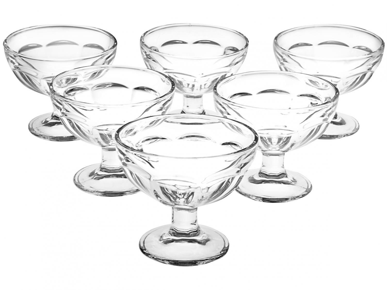 Taças de Sobremesa em Vidro 183ml 6 peças - Casambiente
