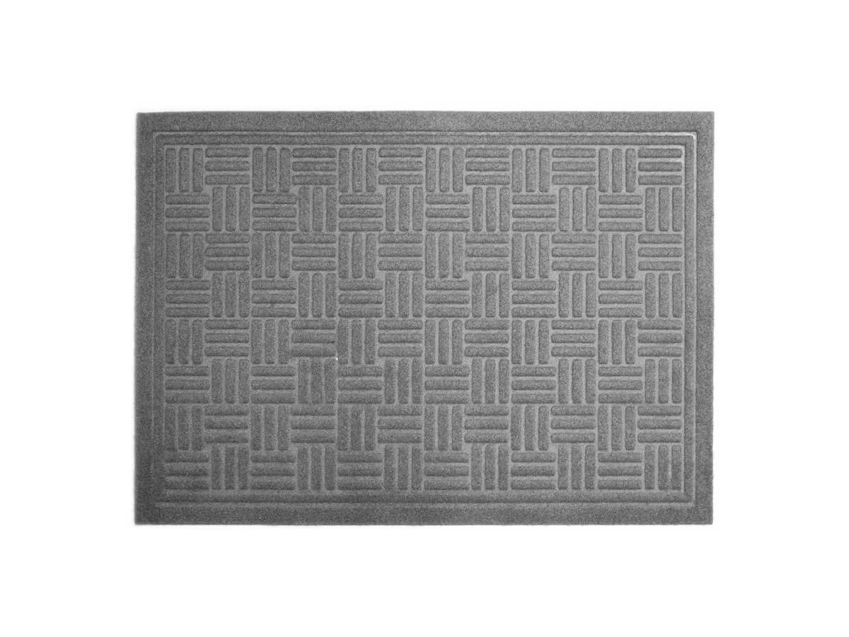 Tapete Cinza Entrelaçado 40x60cm - Casambiente
