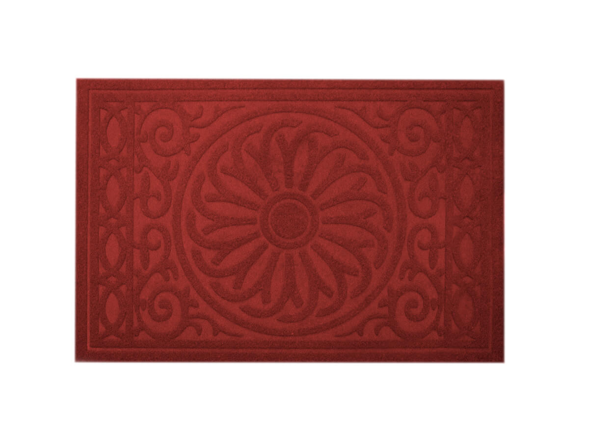 Tapete Medalhão Vinho 40x60cm - Casambiente