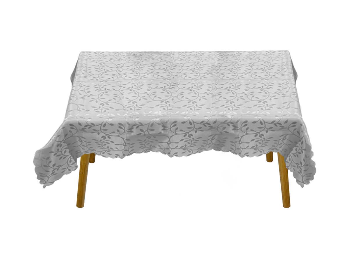 Toalha de Mesa Prata Premium 1,40x2,20m - Casambiente