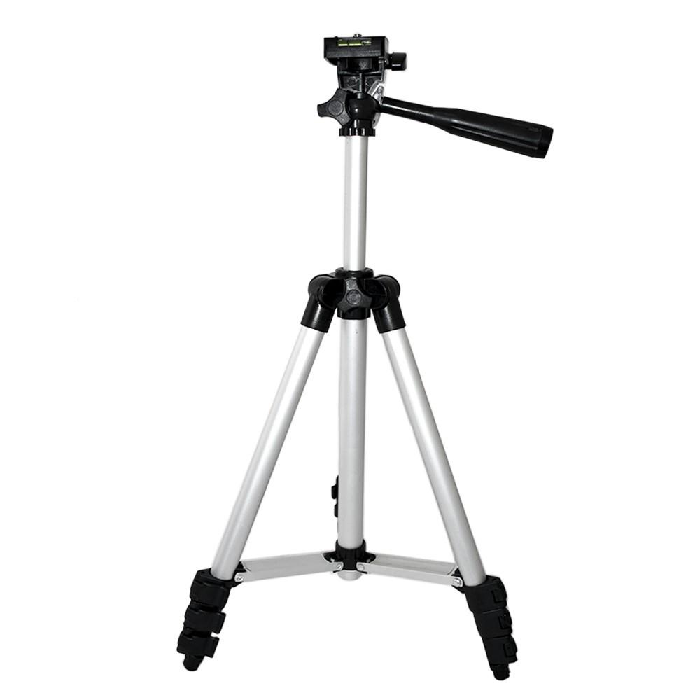 Tripé Para Câmera Fotográfica filmadora GoPro 1,02m Alumínio + bolsa