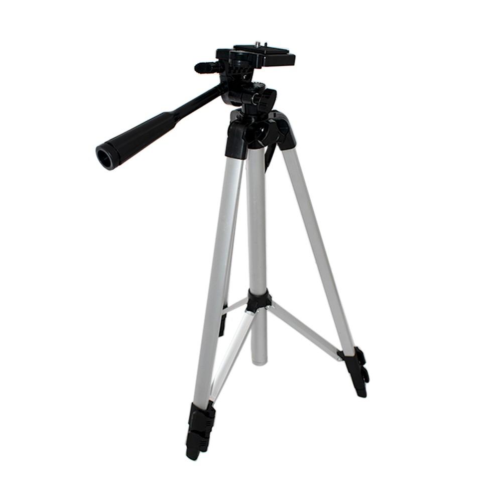 Tripé Para Câmera Fotográfica filmadora 1,30m Alumínio + bolsa