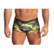 Sunga Boxer Grigo Collection Brasil com bolso