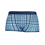 Sunga Boxer Xadrez Grigo Collection