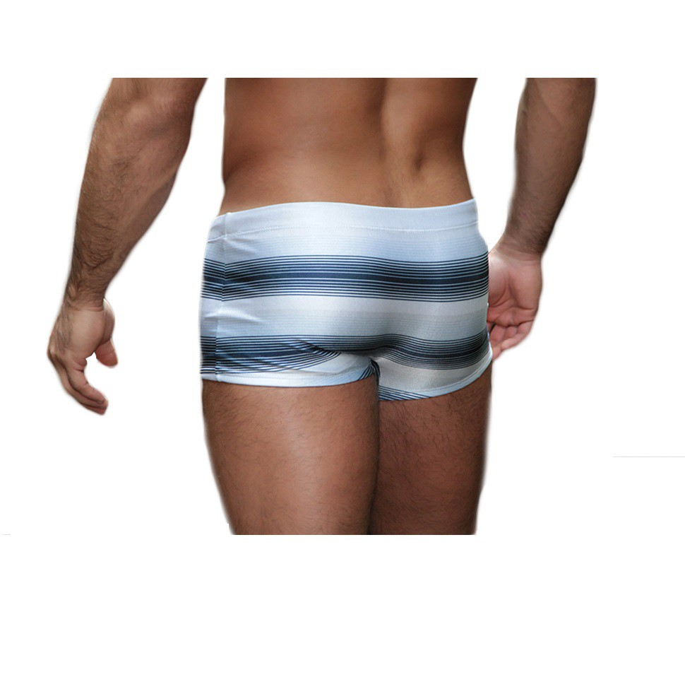 Sunga Boxer Grigo Collection Ocean com bolso