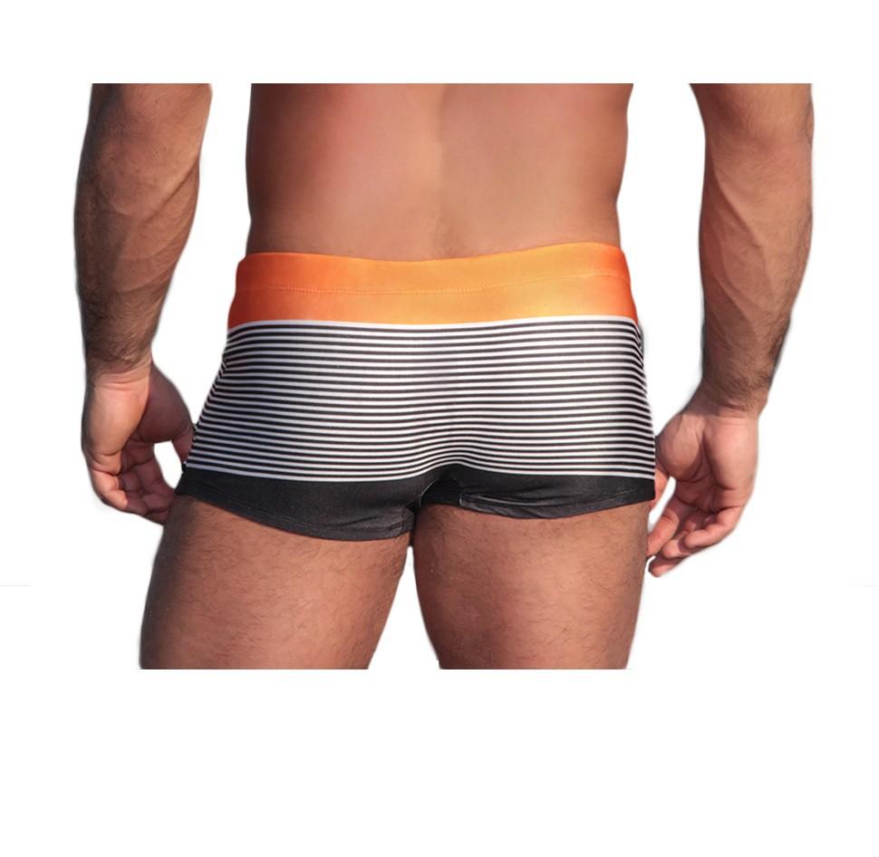 Sunga Boxer Grigo Collection Orange com bolso