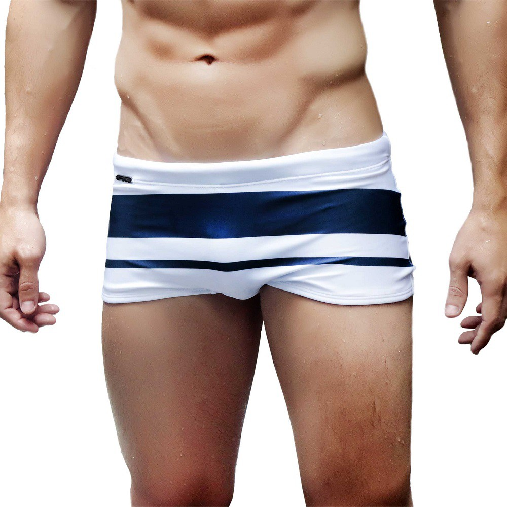 Sunga Boxer Two Lines Grigo Collection