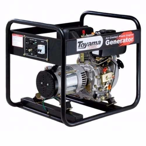 Gerador A Diesel Toyama 2500 Watts 110/220v Td2500cs