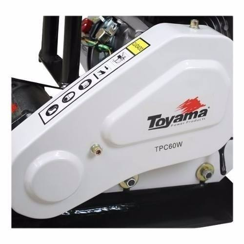 Placa Vibratória 6,5 Hp Toyama Promoção 70% Off Peça Unica