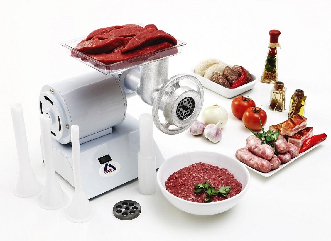 Moedor de Carne Industrial Elétrico Bivolt (127/220V) 374W Arbel