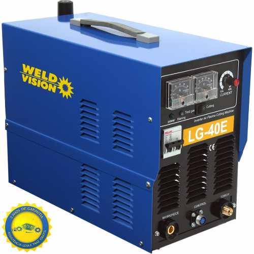 Inversora De Corte A Plasma 10mm Lg40e 220v Monofásica Weld Vision