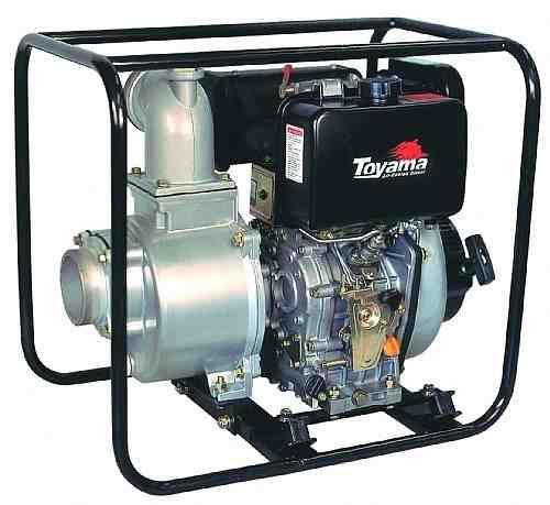 Motobomba A Diesel Toyama 10hp Escorvante Tdae4s100c