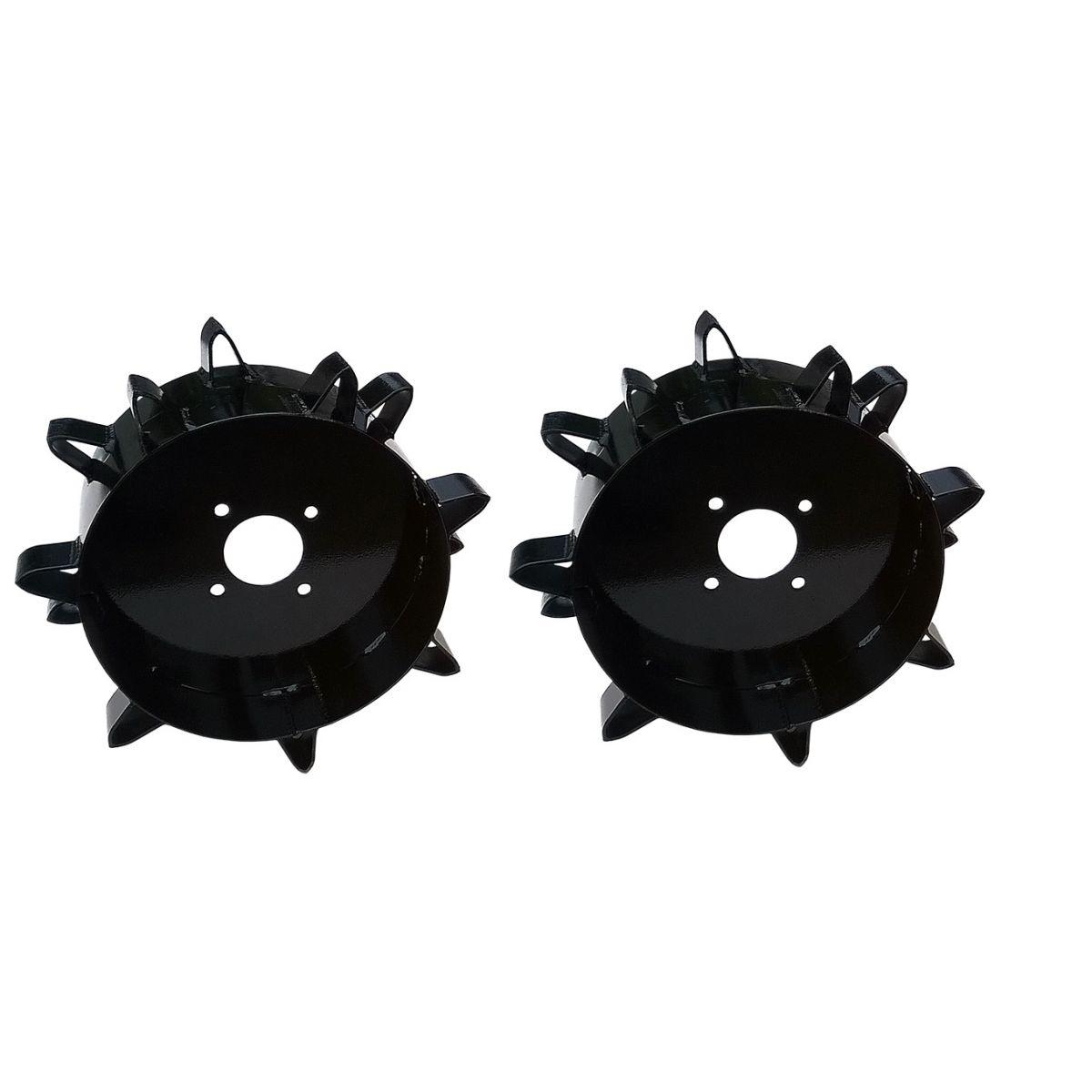 Conjunto Rodas de Ferro para Motocultivadores com Rodado 8