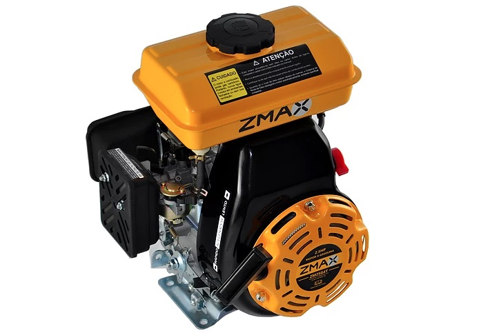 Motor Estacionário a Gasolina 2.5CV 4Tempos Partida Manual Zmax