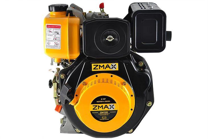 Motor Estacionário a Diesel 6.0 CV Partida Manual Zmax