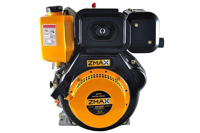 Motor Estacionário a Diesel 10.0 CV Partida Manual Zmax