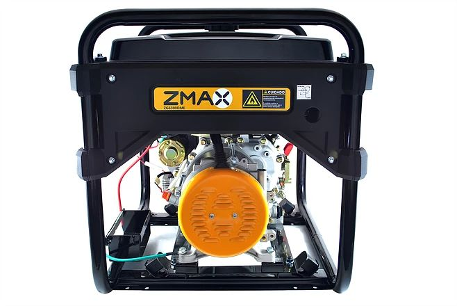 Gerador a Diesel ZG6300DME 5.5KVA Monofásico 127V/220V Partida Elétrica Zmax