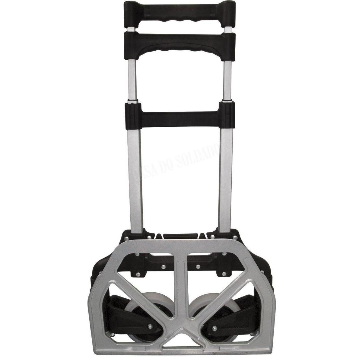 Carrinho Dobrável De Alumínio Capacidade 70Kg Worker