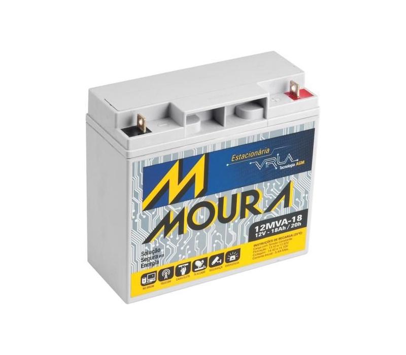Bateria Para Geradores A Gasolina Toyama/Matsuyama/Branco 18A 12V