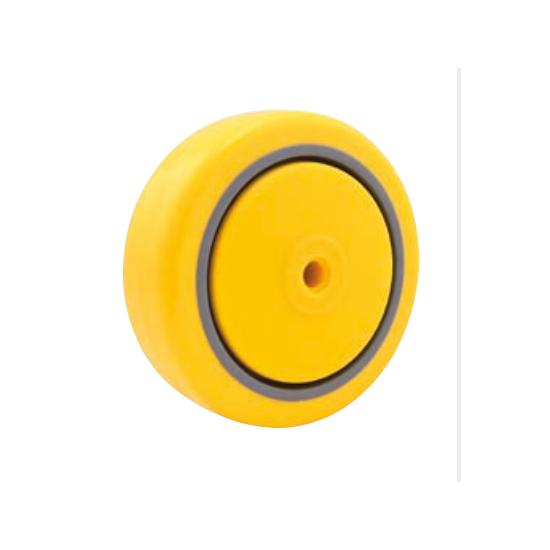 """Roda de Poliuretano e PVC 5"""" (polegadas) Capacidade 120KG Vonder"""