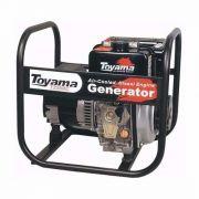 Gerador Toyama A Diesel 4000w X 4 Kva, 220/110  Barato.