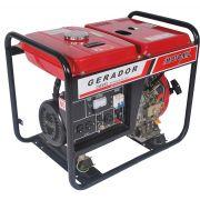 REEMBALADO: Gerador à Diesel 3300 Watts - MDG-3600CL 110/220V - Motomil