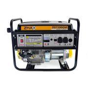 Gerador a Gasolina 4 Tempos ZG7200GM 6.5KVA Mono 127V/220V Partida Manual Zmax
