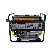 Gerador a Gasolina 4 Tempos ZG8300GTE 8.0KVA Trifásico 127V/220V Partida Elétrica Zmax