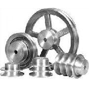 Polia Em Aluminio 2 Canais - A - 140mm Diametro Externo