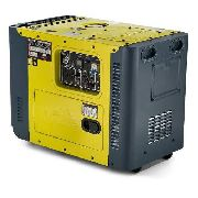 Gerador Diesel 8000 Silenciado Trifásico 220v Sem Embalagem