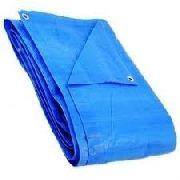 Lona Plastica 9x4 - 100 Micras Laranja Ou Azul Promoção