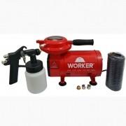 Compressor Ar Direto Com Kit Pintura Bivolt 127/220V Worker
