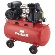 Compressor de Ar 1HP 50 Litros 8Bar 127V Worker
