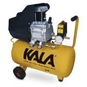 Compressor de Ar 20 Litros 1,5HP 6,6PCM Kala Reembalado