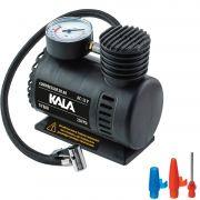 Compressor Portátil Automotivo 250Psi 18Bar 12V Veícular