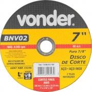 Disco de Corte180,0X1,6X22,23 BNV02 Vonder