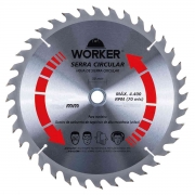 Serra Circular Widea 254X60 Dentes Worker