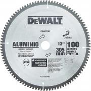 Disco Serra Esquadria 12'' 100 Dentes para Alumínio Dewalt