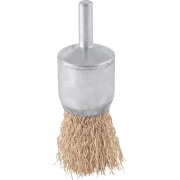 Escova de Aço Tipo Pincel 25MM Ondulado Vonder