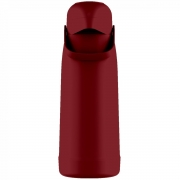Garrafa Magic Pump 1,8L cor Vermelho Aurora Termolar