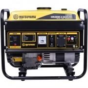 Gerador 1.1 KVA a Gasolina 4 Tempos 2.5 HP Matsuyama 1200