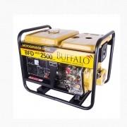 Gerador 2 KVA Monofásico a Diesel 5 HP BFD 2500 Partida Manual Buffalo