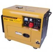 Gerador 5 KVA Trifásico 220V a Diesel 10 HP BFDE 6500 Silencioso Buffalo