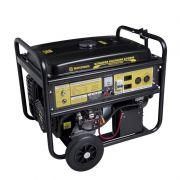 Gerador 6500 Gasolina Partida Elétrica Bifásico 127/220V Matsuyama