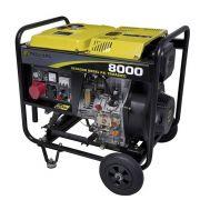 Gerador 8000 Diesel Trifásico 220V Partida Elétrica Reembalado